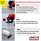 Eventile Tile Leveling System Clips Spacers Clips