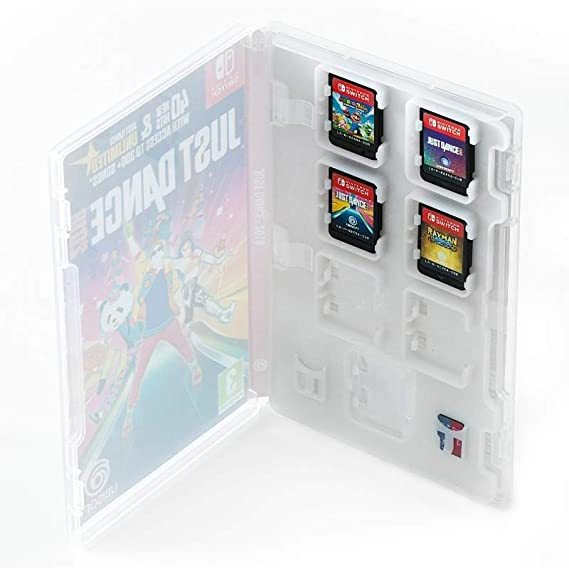 Numskull Nintendo Switch Game Card Cartridge and SD Memory Card Holder