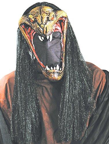 Viper Latex Mask - SALES4YA Scary-Masks Viper Mask With Net