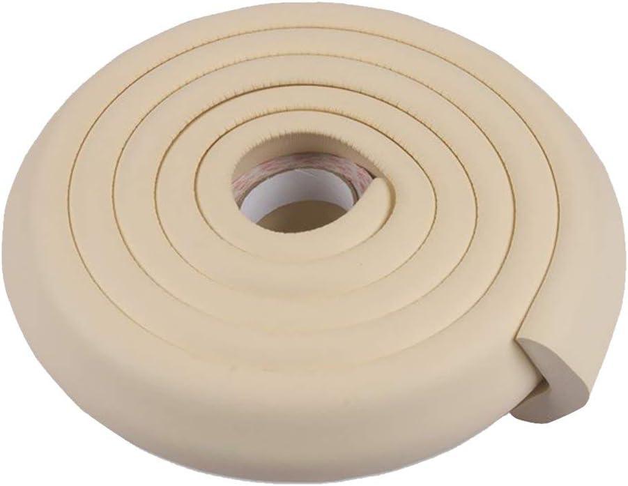 SuperglockT Protection dangle en forme de L en mousse /épaisse pour enfants Protection contre les chocs Table de meubles Protection autocollante 2 m Protection dangle pour b/éb/é enfant