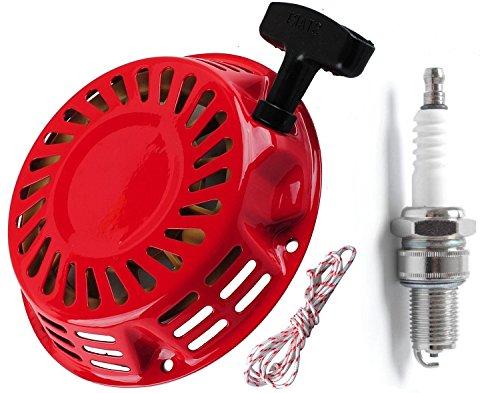 (GX340,GX390 Recoil Starter starter rope with Spark Plug for Honda 28400-ZE3-W02ZP 28400-ZE3-W01ZP)