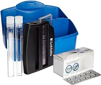 LaMotte 3312-01 Model SL-MW Chlorine In Drinking Water Individual Test Kit, 0.1, 0.2, 0.3, 0.4, 0.5, 0.6, 0.8, 1.0ppm Cl Range