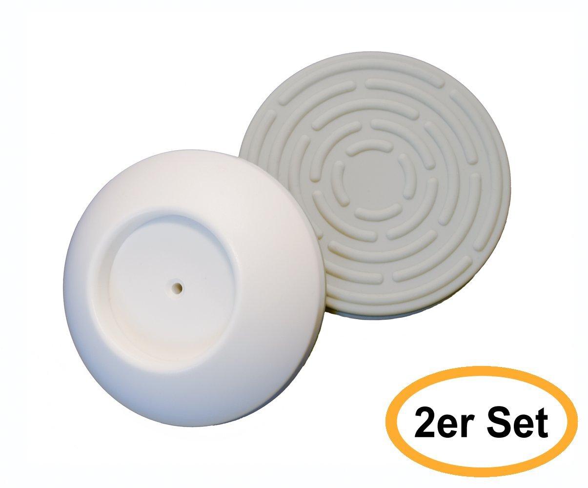 Sicherheits-Wandschutz - 2er Set für alle Türgitter und ...