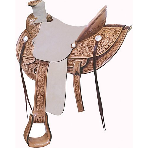 Billy Cook Saddlery Wade Ranch Roper Saddle 16