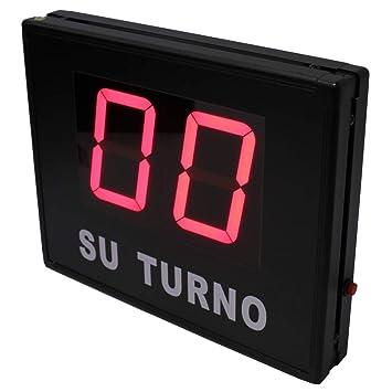 Cablematic - Gestión de Colas electrónico Su Turno 2 dígitos (código 01): Amazon.es: Electrónica