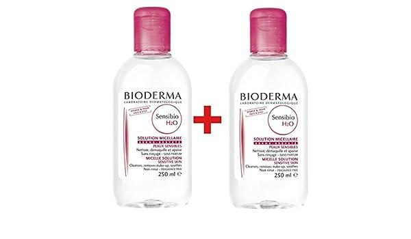 Bioderma Sensibio H2o - Paquete doble de 250 ml: Amazon.es: Belleza