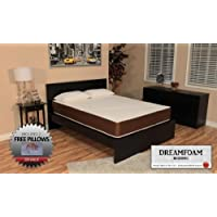 DreamFoam Bedding 10-Inch Memory Foam Mattress, Twin