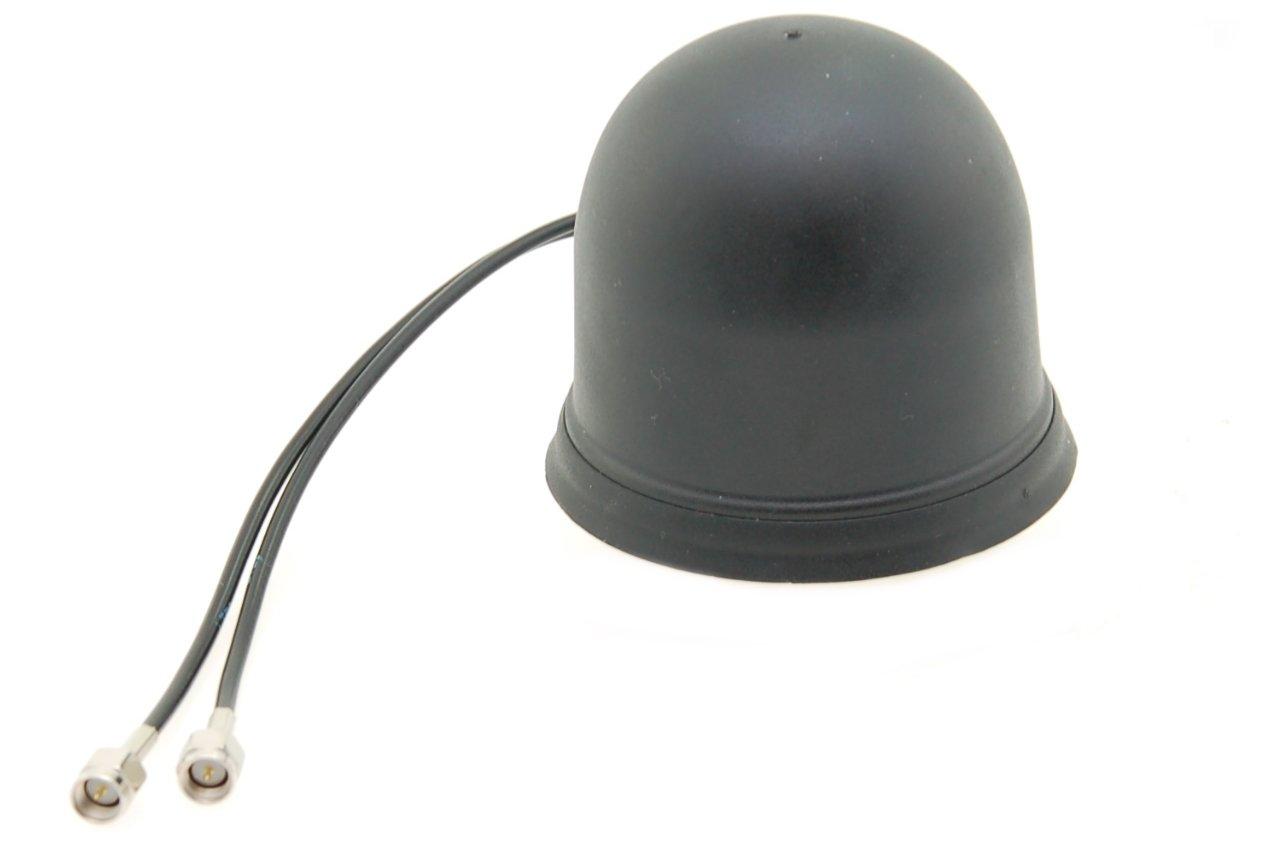 Alda PQ Antenne zur Dachmontage fü r 2G (GSM), 3G (UMTS), 4G (LTE), WiFi/Bluetooth mit SMA/M Stecker 3 dBi Gewinn
