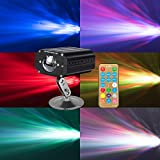 LED Water Ripples Party Lights DJ Disco Stage Lights Sbolight Projector Karaoke Strobe Perform for Stage Lighting with Remote Control for Dancing Thanksgiving KTV Bar Birthday Outdoor