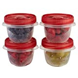 Rubbermaid TakeAlongs 1.2 -Cup Twist and Seal Containers, Pack of 4