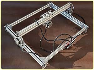 DIY 300mW máquina de grabado láser, Cámara grabadora de dibujar, indicador, plotter del palpador mesa de bricolaje para CNC impresora de marcado, Cortapapeles, Mini bricolaje corte de fotos 30 x 40 cm