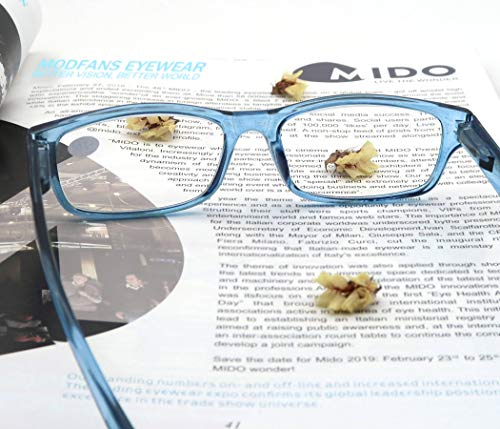 Set of Mixed Colors of Reading Glasses with Spring Hinges Vintage Quality Comfort for Men and Women