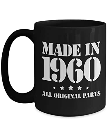 Amazon Com 58th Birthday Gifts For Him Made In 1960 Happy 58