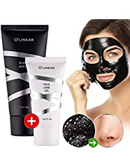 Black Charcoal Mask Blackhead Remover - Face Peel Off...