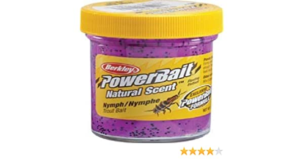Berkley PowerBait Nymph Grape