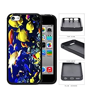 MMZ DIY PHONE CASEColorful Fish Aquarium Water Tank Hard Rubber TPU Phone Case Cover ipod touch 5