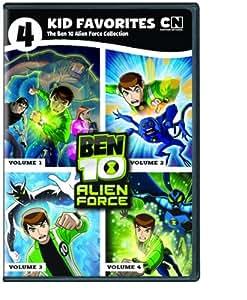 4 Kid Favorites Cartoon Network Ben 10 Alien Force