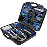 Vastar 120-Pieces General Home Tool Set with Toolbox Storage Case