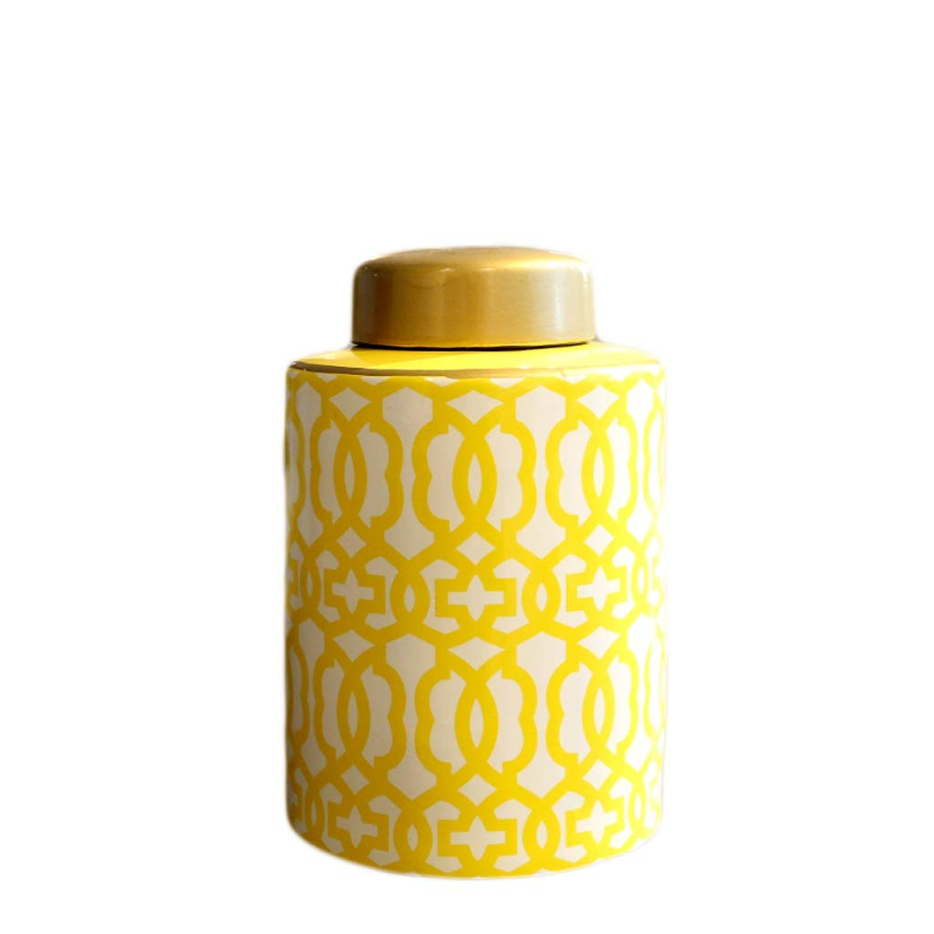 MAHONGQING 花瓶新しい中国風セラミック花瓶花飾り装飾ホームリビングルームデスクトップポーチ彫刻 (Size : S) B07RRTSCC7  Small