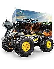 GizmoVine RC Coche Teledirigido Vehículo Hobby, 1/18 Monster Truck 2.4GHz Gran Neumático Coches Radiocontrol Juguetes RTR Vehículo Afición Eléctric Camión Monstruo para Niños y Adultos