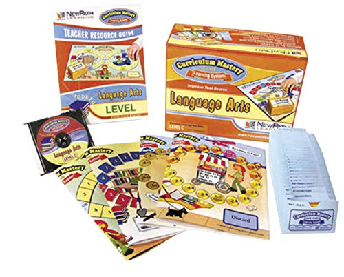 NewPath Learning Mastering Reading/Language Arts Curriculum Mastery Game, Grade 2, Class Pack by New Path Learning