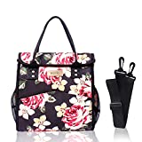esafio Leakproof Insulated Lunch Box Bag, Portable Cooler Bag with Large Capacity, Stylish