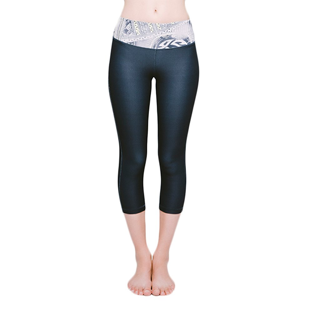 97b8409dd2214 Amazon.com: Joriki Women's High Waist Workout Leggings with Pockets Non  See-Through Compression Printed Yoga Pants: Clothing