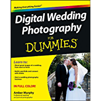 Digital Wedding Photography For Dummies book cover