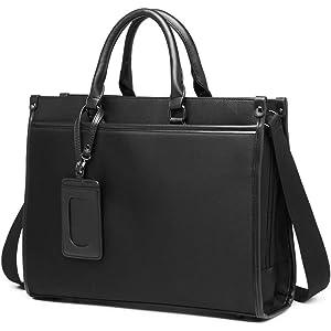 【グッシオ ウォーモ】ビジネスバッグ パスケース 付き 2way メンズ 就活 定期 198022 (ブラック)