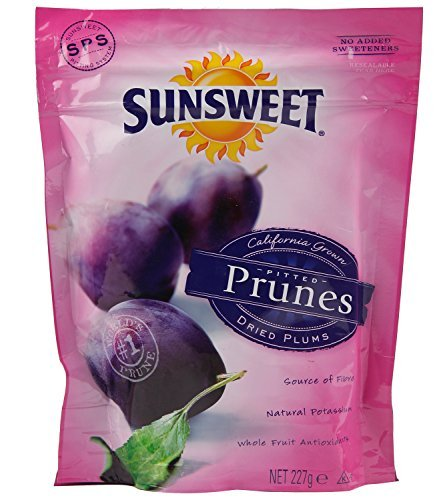 Sunsweet 1 Pitted Prunes, 227G by Sunsweet