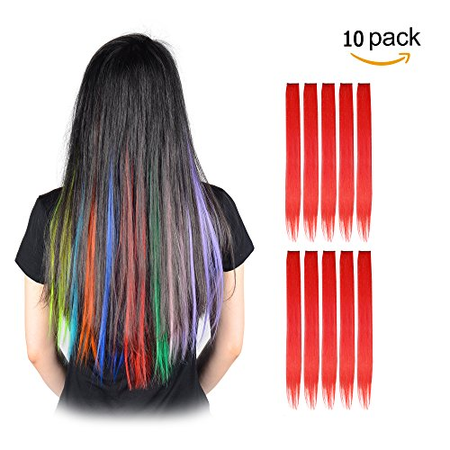 FESHFEN Highlight Extensions Synthetic Hairpieces product image