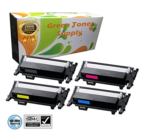 GTS Green Toner Supply Compatible 4 Color Laserjet Toner Car