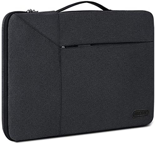 13-14 Inch Laptop Sleeve Case Waterproof 360 Protective Laptop Sleeve Bag Work Business Computer Case for 13 Inch MacBook Air/Pro Notebook Portable Handle Laptop Bag,Black