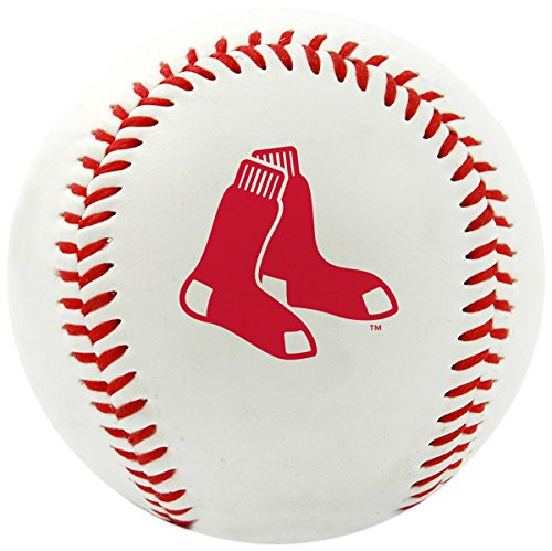Rawlings MLB Boston Red Sox Team Logo Baseball, Official, White - Mlb Gift Sox