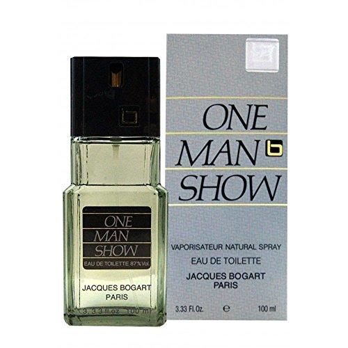 One Man Show By Jacques Bogart For Men. Eau De Toilette Spray 3.3 Ounces (Pack of 7)