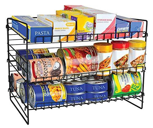 Frigidaire Kitchen Pantry Organizer & Space Saver with 3 Tier Shelves - Frigidaire Storage Cabinet