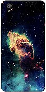 Snoogg Meteorite Space Designer Protective Back Case Cover For One Plus X
