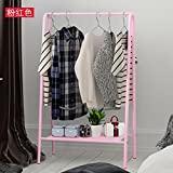 Simple coat rack hanger landing bedroom minimalist modern creative bag rack wrought iron racks living room shelves,Pink