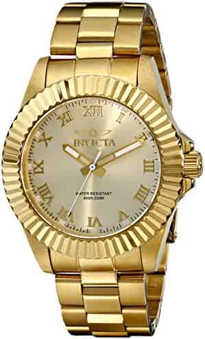 Invicta Men's 16739 Pro Diver Analog Display Swiss Quartz Gold Watch
