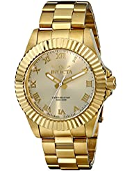 Invicta Men's 16739 Pro Diver Analog Display Swiss Quartz Gold Watch