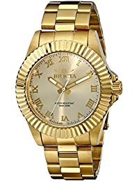Men's 16739 Pro Diver Analog Display Swiss Quartz Gold Watch