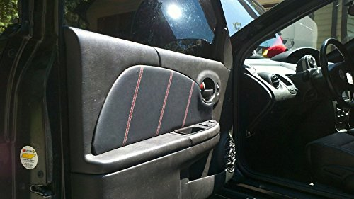 Amazon.com: Saturn ION 2003-07 insercion de puertas delanteras de RedlineGoods: Automotive