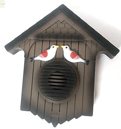 GM Cuckoo Bird 4013 Plastic Doorbell (Brown)