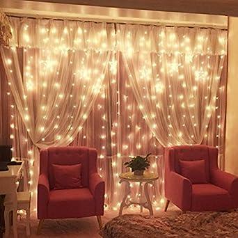 Chambre lampe déco Lampe LED String Rideau Strip lampe lampe fille ...