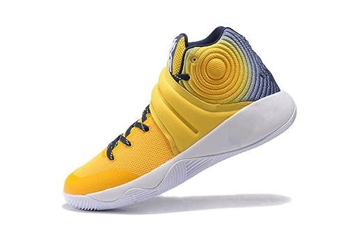 huge discount 86faa 7d4e1 Men s Kyrie 2 Yellow White Blue Casual Jogging Shoes Outdoor Sports Shoes   Amazon.ca  Shoes   Handbags