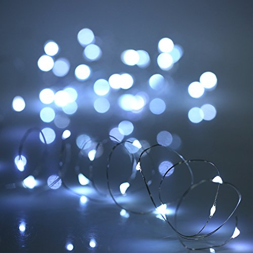 YIHONG-6-PCS-Fairy-Lights-Cool-White-LED-String-Lights-Battery-Operated-72ft-20-Leds-Firefly-Lights-Starry-String-Lights-For-Costume-Home-Party-Wedding-Halloween-Easter-Christmas-Decoration