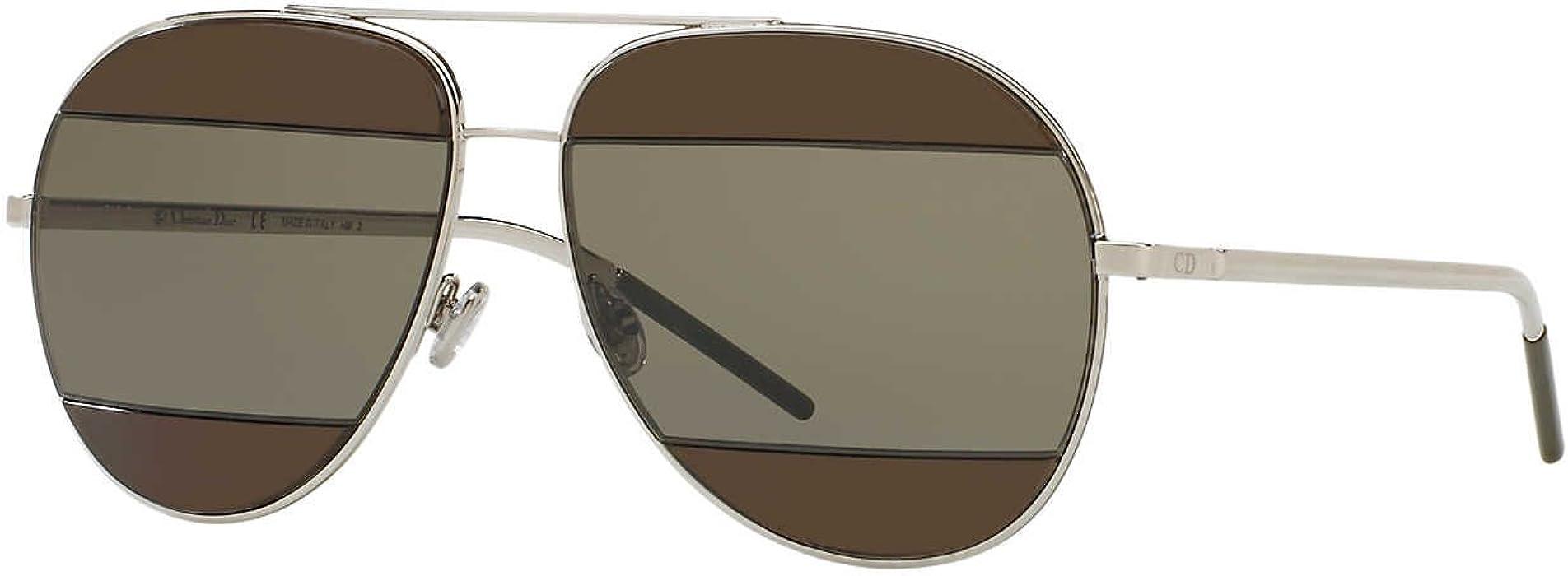 2232f89b5168 Dior Dior Spilt2 0106J3 Palladium Spilt 2 Aviator Sunglasses. Back. Double- tap to zoom