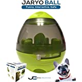 Jaryo Ball: Treat and Food Dispensing Toy for Dogs and Cats, Interactive Feeding Ball for Dogs and Cats, Improving IQ and Mental Stimulation