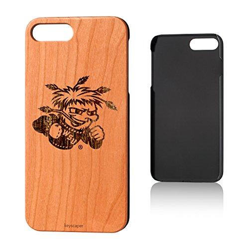 (Keyscaper Wichita State University Cherry Wood iPhone 7 Plus/iPhone 8 Plus Case NCAA)