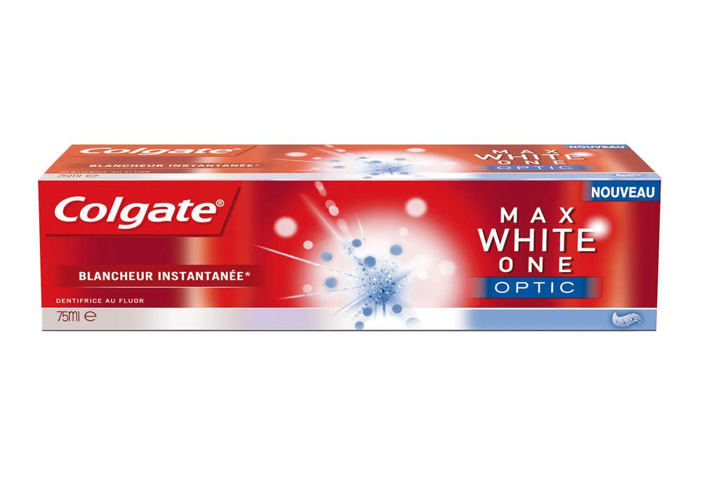 Amazon.com : Colgate Palmolive Kit Colgate Max White - The Optic White Toothbrush + Whitening Pen + Colgate Max White One Optic Toothpaste 75 Ml : Beauty